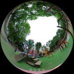 新宿区の落合公園を360度写真付きレポート。バスケもドッグランも楽しめる!