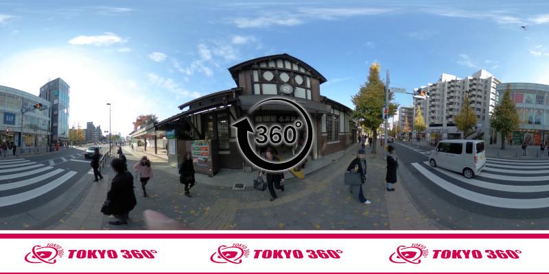 原宿駅-360度写真-10