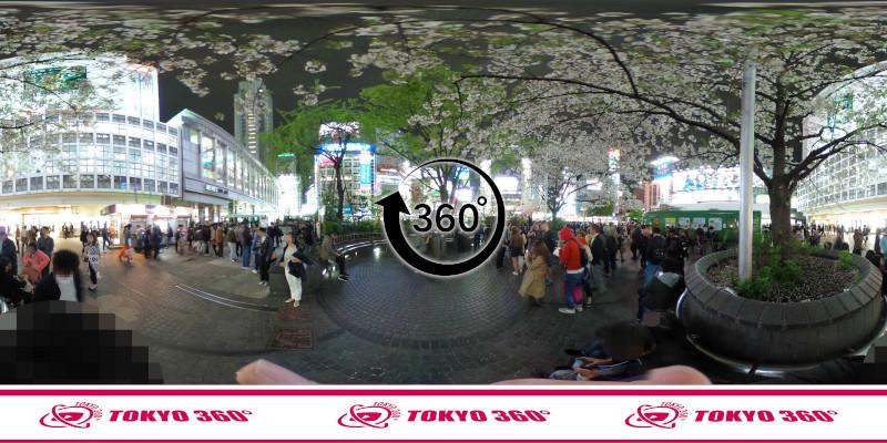 渋谷ハチ公前_360度写真03