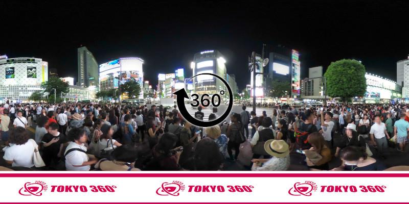 渋谷ハチ公前_360度写真04