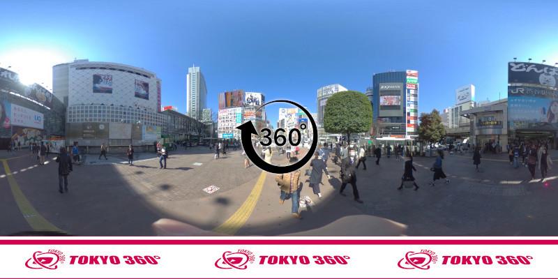 渋谷ハチ公前_360度写真05