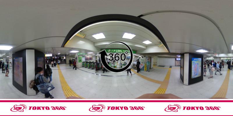 渋谷ハチ公前_360度写真06