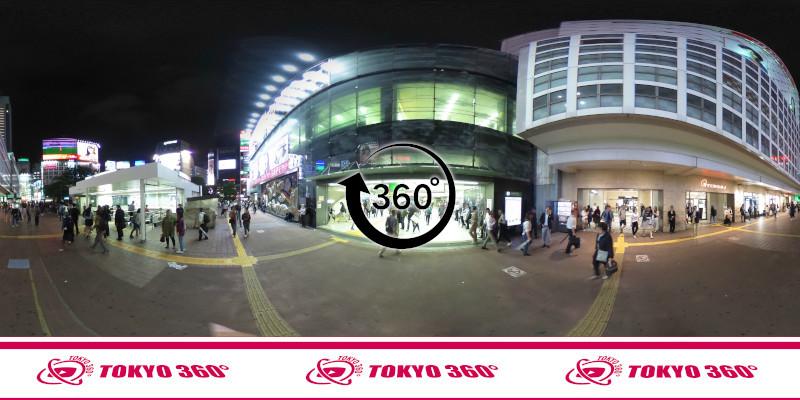渋谷ハチ公前_360度写真08