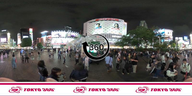 渋谷ハチ公前_360度写真09
