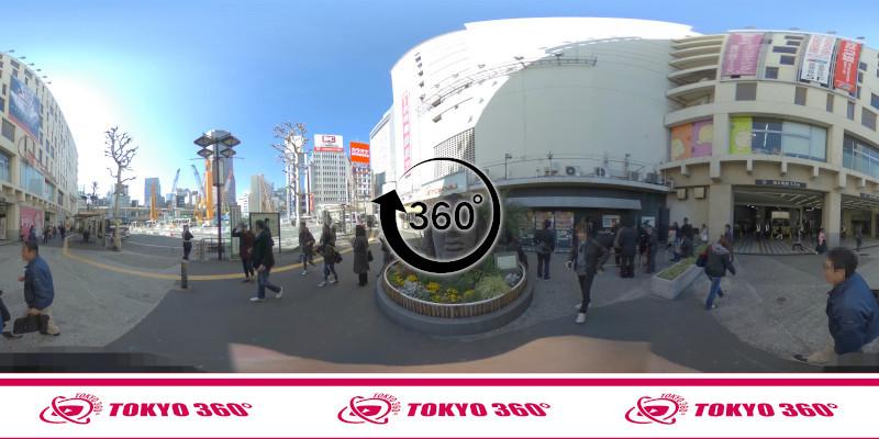 渋谷ハチ公前_360度写真10