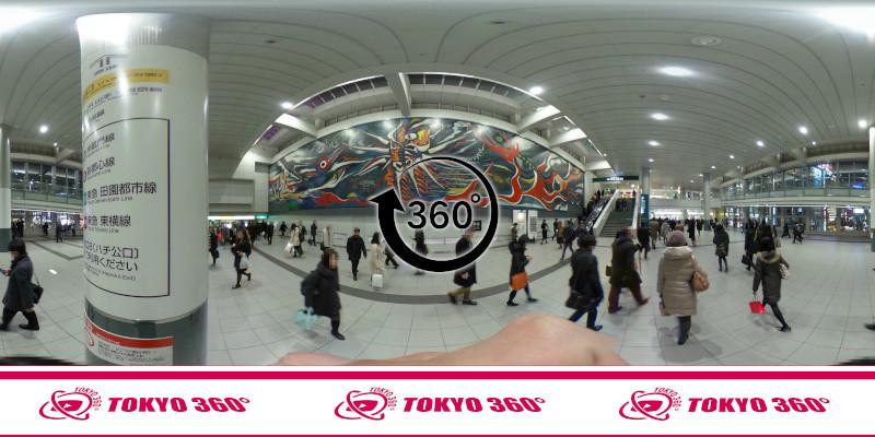 渋谷ハチ公前_360度写真11