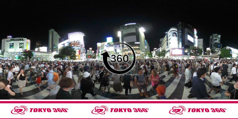 渋谷ハチ公前_360度写真12