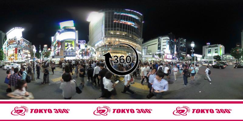 渋谷ハチ公前_360度写真13