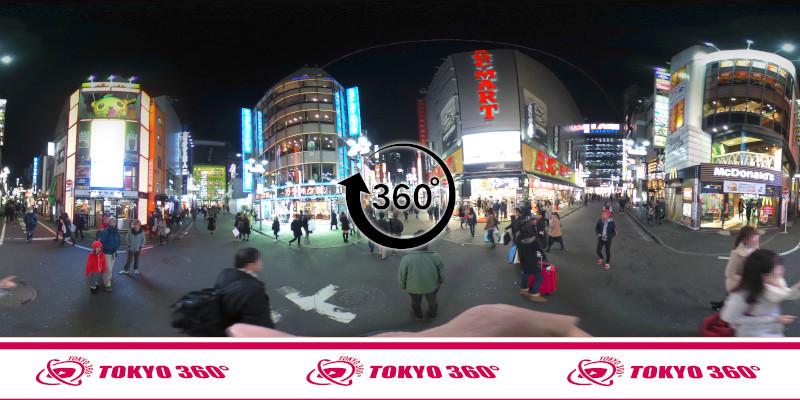 渋谷ハチ公前_360度写真14