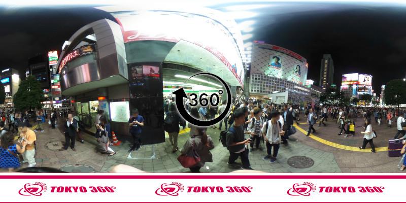 渋谷ハチ公前_360度写真15