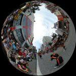 一万人エイサー踊り隊が国際通りを埋め尽くす!360度写真レポートでバーチャル観光