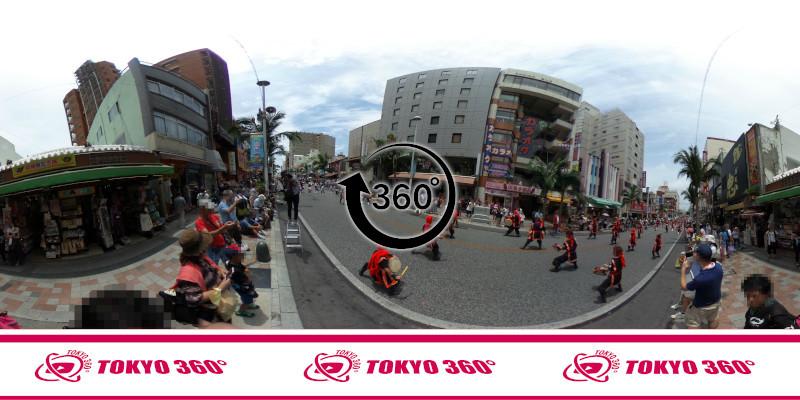 一万人エイサー-360度写真04