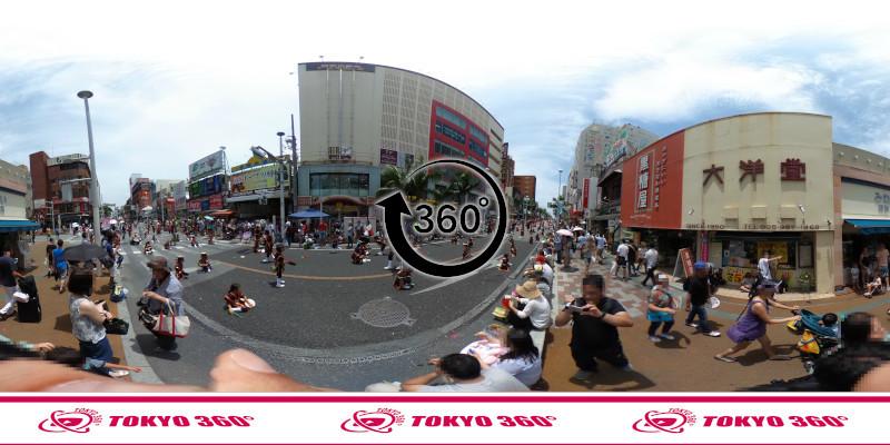 一万人エイサー-360度写真08