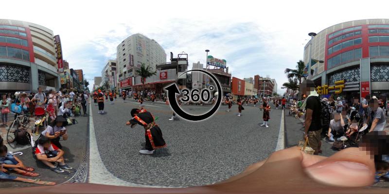 一万人エイサー-360度写真09