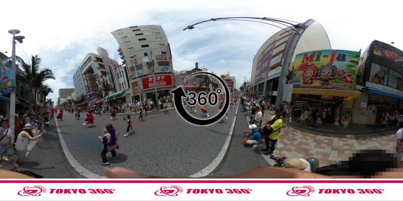 一万人エイサー-360度写真10