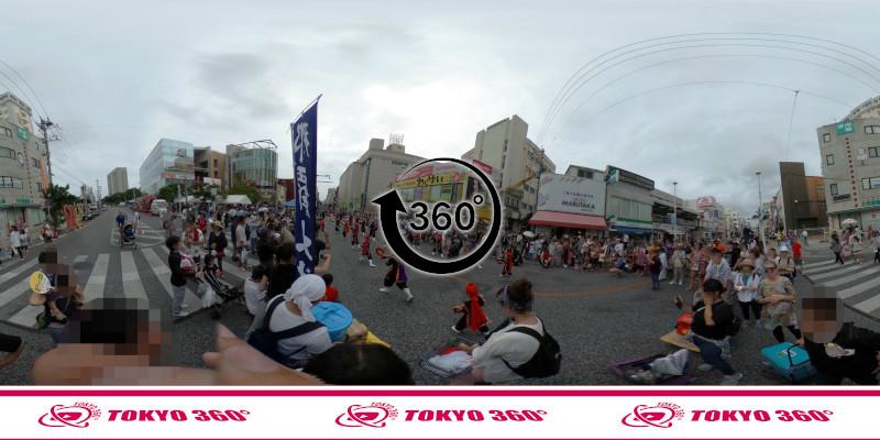 一万人エイサー-360度写真14