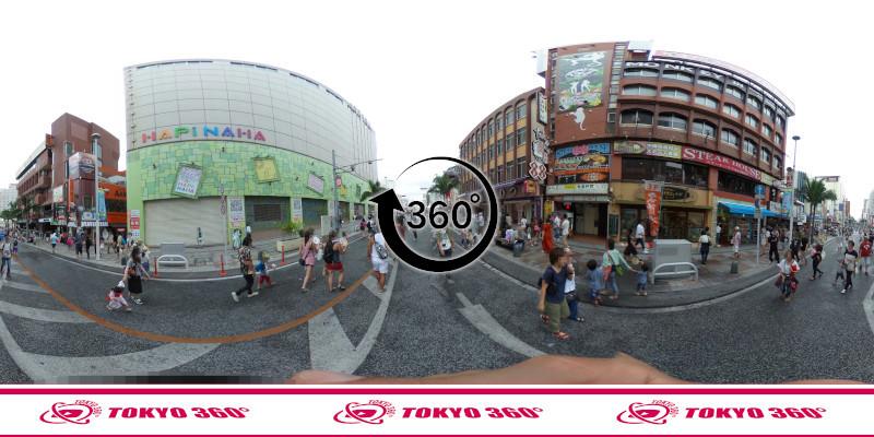 一万人エイサー-360度写真15