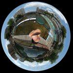 横十間親水公園の360度写真集。水上アスレチックをバーチャル体験!