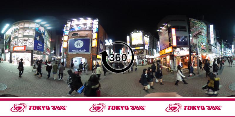 渋谷センター街-360度写真04