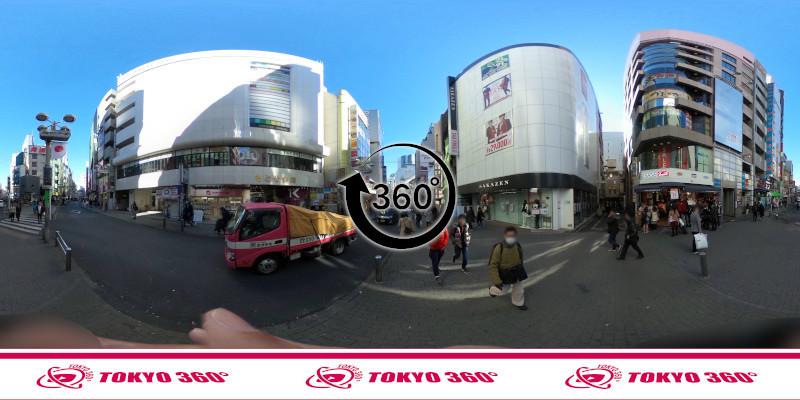 渋谷センター街-360度写真05
