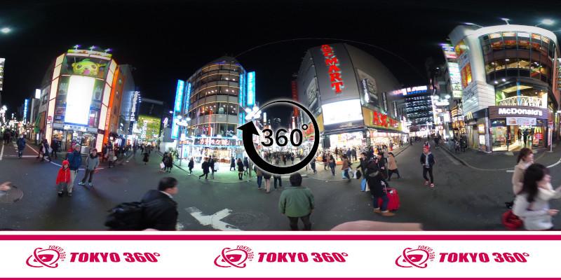 渋谷センター街-360度写真06