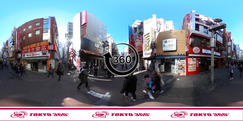 渋谷センター街-360度写真07