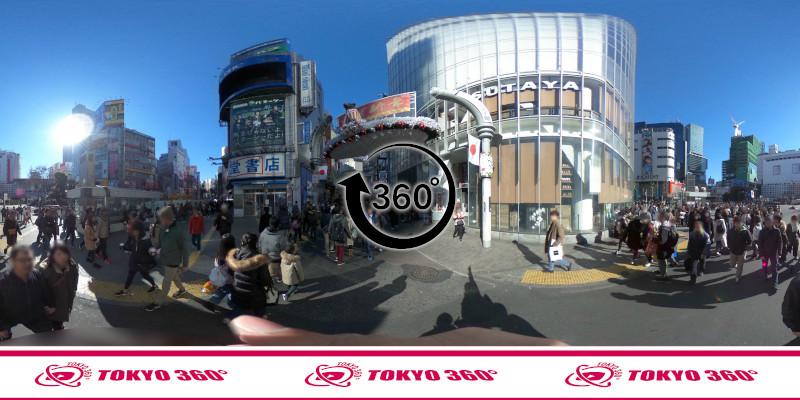 渋谷センター街-360度写真08