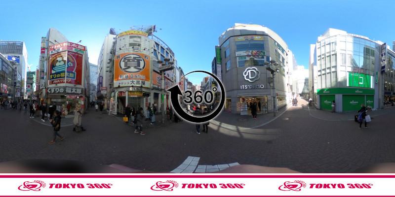 渋谷センター街-360度写真09