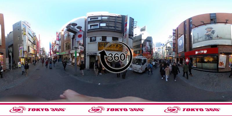 渋谷センター街-360度写真10