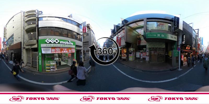 渋谷センター街-360度写真11