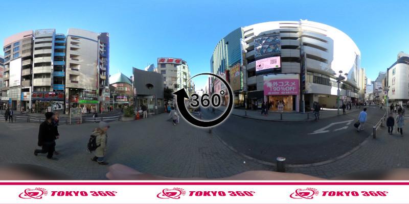 渋谷センター街-360度写真12