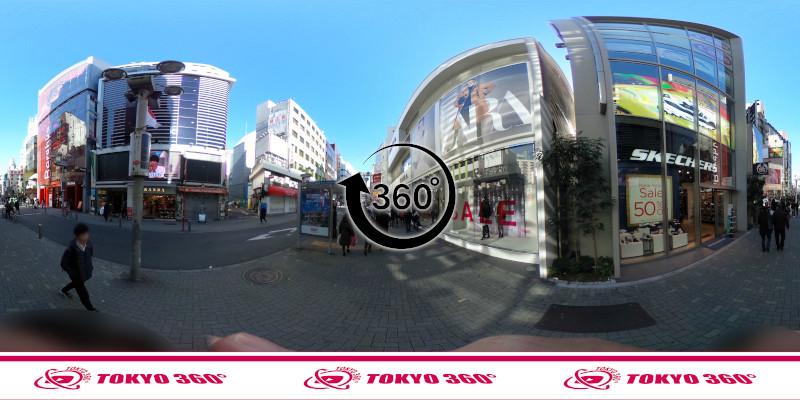 渋谷センター街-360度写真13