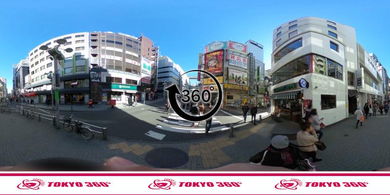 渋谷センター街-360度写真14