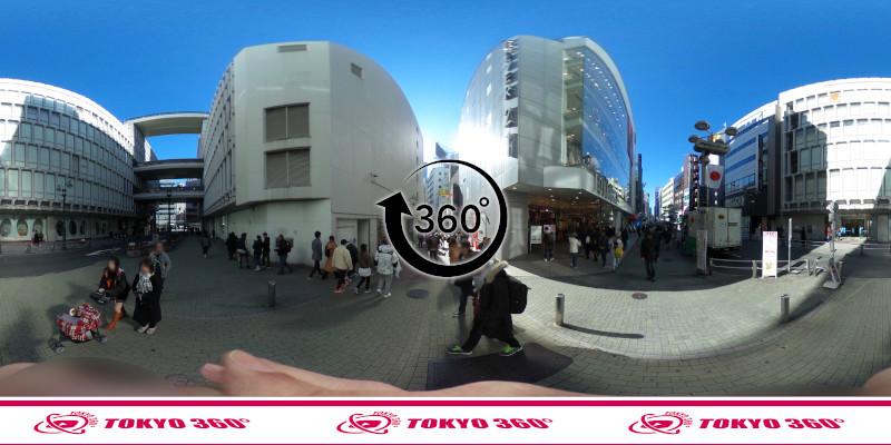 渋谷センター街-360度写真15