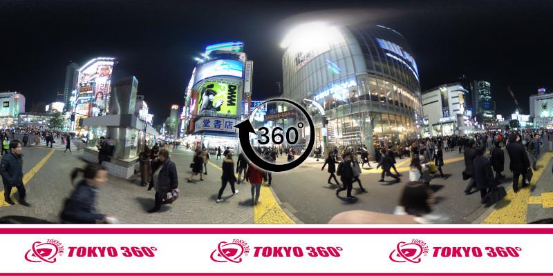 渋谷センター街-360度写真16