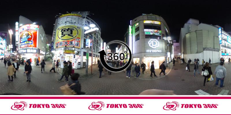 渋谷センター街-360度写真17