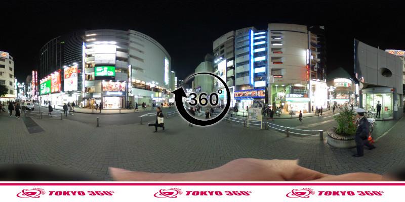 渋谷センター街-360度写真18