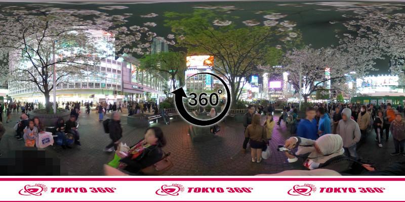 渋谷センター街-360度写真20