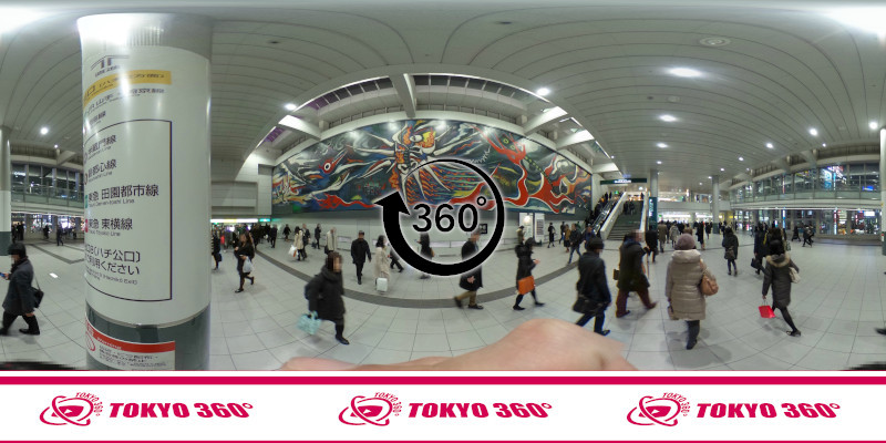 渋谷センター街-360度写真22
