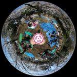 桜咲く哲学堂公園の360度写真集。のんびり花見ができる穴場スポット!
