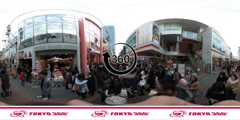 竹下通り-360度写真08