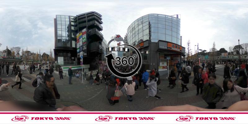 竹下通り-360度写真09
