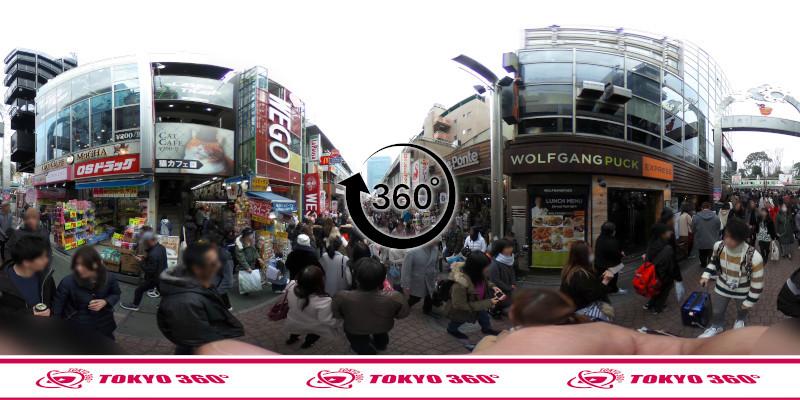 竹下通り-360度写真10