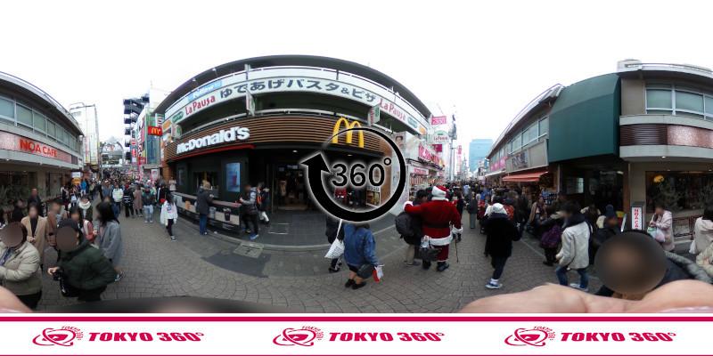 竹下通り-360度写真11
