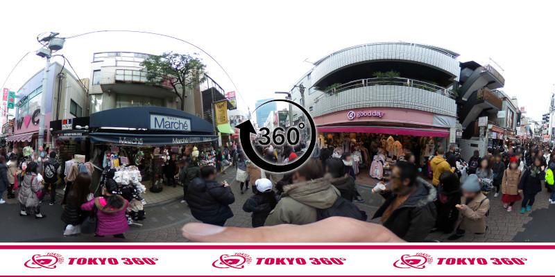 竹下通り-360度写真13