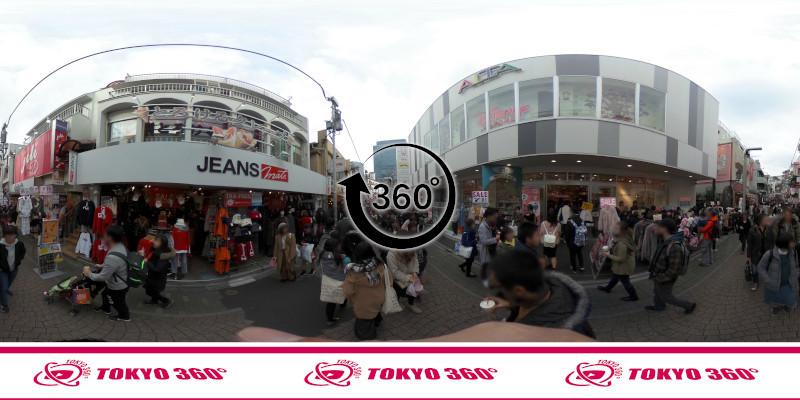 竹下通り-360度写真14