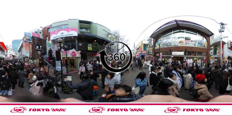 竹下通り-360度写真15