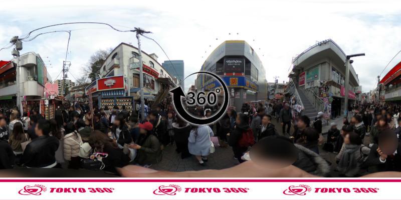 竹下通り-360度写真16