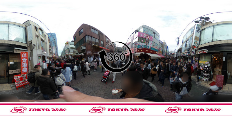 竹下通り-360度写真17