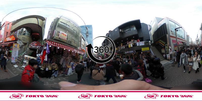 竹下通り-360度写真18